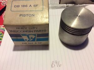Wisconsin Db 186 A Sf Piston Nos Oem