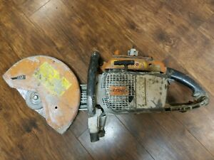 Stihl Ts760 Cutquick Concrete Cut off Saw 6 5hp 111cc 14 Handheld Gas Powered