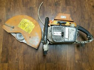 Stihl Ts760 Cutquick Concrete Cut off Saw 6 5hp 111cc 16 Handheld Gas Powered