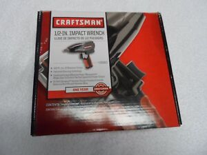 Craftsman 1 2 Drive Pneumatic Impact Wrench Part 19983