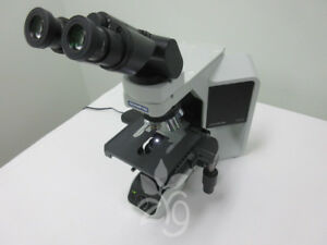 Olympus Microscope Bx43 With Tilting Head