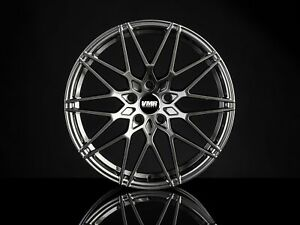 Vmr V801 18x8 5 9 5 5x112 Et35 Anthracite Metallic Staggered Wheel Set