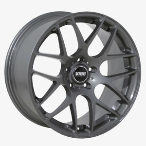 Vmr V710 19x8 5 5x112 Et45 Gunmetal Wheels Fit Audi A3 S3