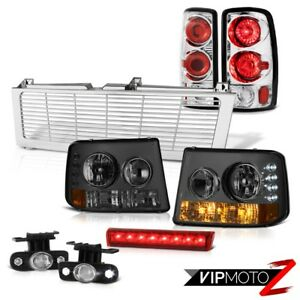 Smoke Bumper Headlights Clear Tailights Foglights Brake Led 2000 2006 Tahoe Z71