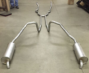 1966 Ford Thunderbird Dual Exhaust System 304 Stainless With 390 Engines
