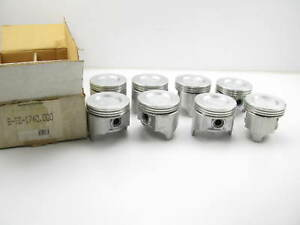 8 Perfect Circle Tc1740 Pistons Standard 1968 1971 Oldsmobile 350 V8