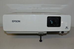 Home Entertainment Epson Powerlite 83 Lcd Projector 802 Used Lamp Hours