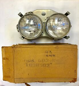 1958 Plymouth Headlight Assembly Right Side New Old Stock 1838902