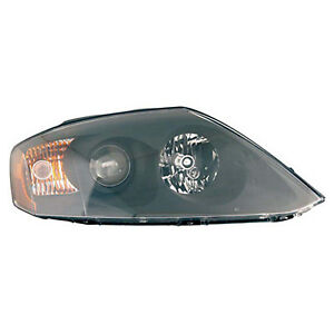 Replacement Headlight Assembly For 05 Tiburon Front Passenger Side Hy2503146c