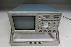Tektronix Tds460a 4 Channel Oscilloscope 400mhz 100ms s Opt 05 1f 1m 2f