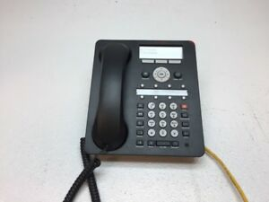 Avaya 1616 i Ip Voip Business Phone W Handset Stand Reset Tested Working
