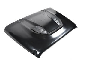 Jeep Wrangler 10th Anniversary Hood Power Dome Hood Black Anti Rust Galvanized