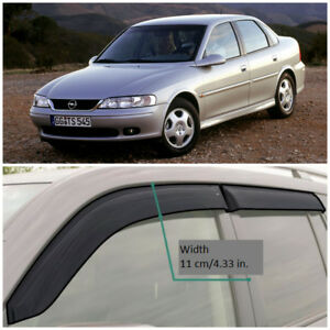 Oe11196 Window Visors Guard Vent Wide Deflectors For Opel Vectra B Sd 1996 2002