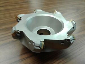 6 45 Degree Indexable Face Shell Mill Face Milling Cutter W Sean42aftn new