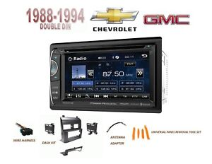 Chevy Gmc Suv Full Size Trucks 1988 1994 Car Stereo Kit 6 2 Lcd Touchscreen