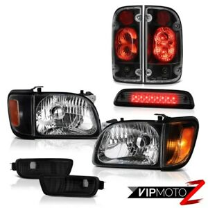 01 02 03 04 Toyota Tacoma 4x4 Smoked Roof Cab Lamp Taillamps Headlights Bumper