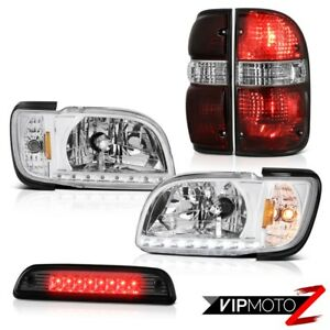 01 04 Toyota Tacoma 4wd Roof Cargo Light Taillights Chrome Headlamps Bumper Led