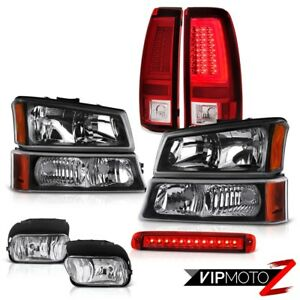 2003 2006 Chevy Silverado Tail Lamps Roof Brake Light Fog Turn Signal Headlamps