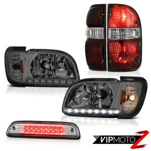 01 04 Toyota Tacoma 4x4 Euro Clear Roof Cab Light Taillamps Headlamps Bumper Led