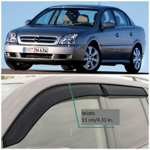 Oe11202 Window Visors Guard Vent Wide Deflectors For Opel Vectra C Sd 2002 2008
