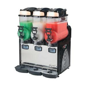 Eurodib Oasis3 Frozen Drink Machine With Three 2 6 Gallon Tanks