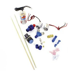 Nos 16037nos Ntimidator Illuminated Dual Blue Led Nitrous Purge Kit