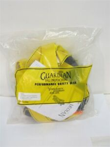 Guardian 00741nt 5 Point Adjustment Harness Attached 6 Internal Shock Lanyard