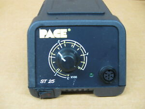 Pace St 25 Sensa Temp Soldering Station Base