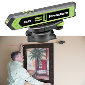 Powersmith Torpedo Laser Level Pointer Tool For Picture Hanging Framing Diy