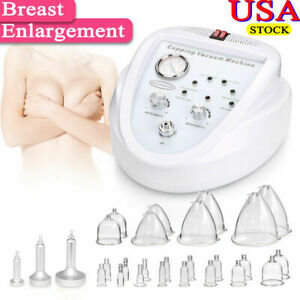 Vacuum Therapy Skin Care Breast Enlarge Enhance Shaping Massage Slimming Machine