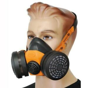Sagola Mp300 Respirastor Spray Mask Chemical Filters Paint Solvents Dust