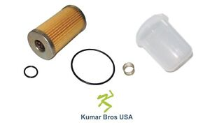 New Ford New Holland Fuel Filter bowl spring 1900 1910 1920 2110 2120