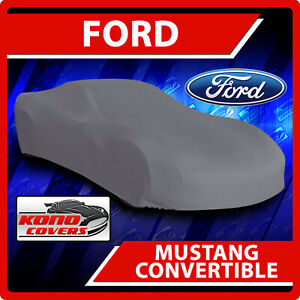 Ford Mustang Convertible Car Cover Ultimate Custom Fit Weather Protection