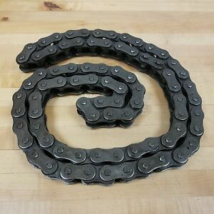 Morse 100r Roller Chain Ansi 100 Rivited 1 1 4 Pitch 8 Foot 4 Inches Long