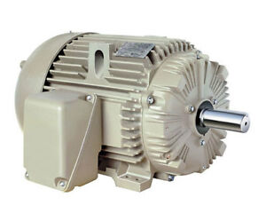 20 Hp Electric Motor 256t 3 Phase Premium Efficient 1800 Rpm Ge Free Shipping