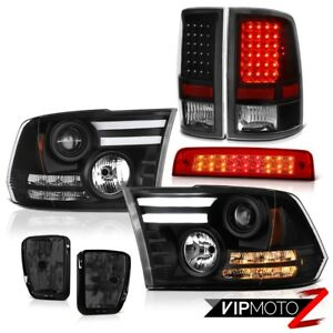 13 18 Ram 1500 Sport Wine Red High Stop Lamp Fog Lamps Taillamps Headlights Cool
