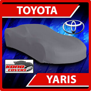 Fits Toyota Yaris Car Cover Ultimate Full Custom Fit All Weather Protection