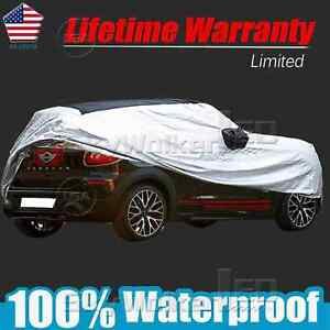 Car Cover Fit Short Antenna Outdoor Waterproof Rain Snowdust For Mini Cooper R60