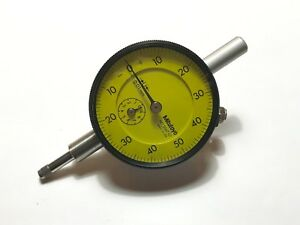 Mitutoyo Dial Indicator 0 01mm Usa New In Box 2047 01 Great Piece