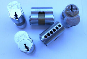 5 High Security Medeco Lock Core Cylinders No Pins