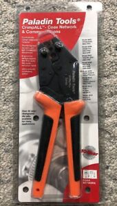 New sealed Paladin Tools Crimpall Model 8009 Rg58 59 62 6 Te
