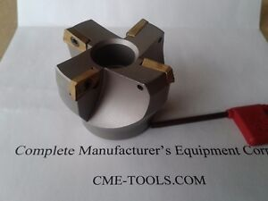 2 1 2 75 Degree Indexable Face Shell Mill face Milling Cutter Apkt 506 75ap 25