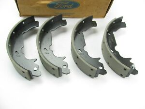 New Genuine Rear Brake Shoes Oem For 1993 2002 Mercury Villager Nissan Quest