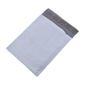 1000 Any Size White Poly Bubble Mailers Shipping Bags Self sealing Envelopes