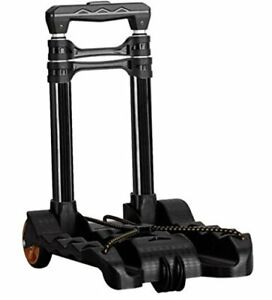 Folding Hand Truck 77 Lbs black for Shipping Cart transportation Cart With Wheel
