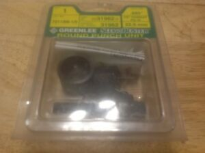Greenlee Tools Slug Buster Round Punch Out Kit 1 2 Conduit 7211bb 1 2