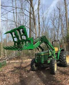 72 Root Grapple Bucket john Deere Tractor Loader free Shipping