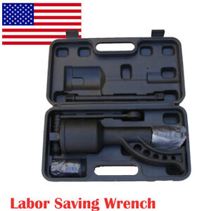 Torque Multiplier Truck Wrench Lug Nut Lugnuts Remover Labor Saving Box