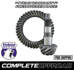 Yukon Yg D44jk 411rub Replacement Ring And Pinion Gear Set For Dana 44