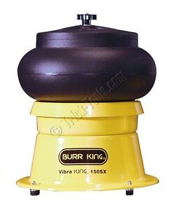 Vibra Burr King 150 Bench Top Vibratory Bowl 10 Qt Bowl 1 5 Hp 120v